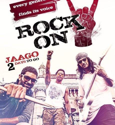 Rock On !! 2 first track 'Jaago' teaser poster released!!!!