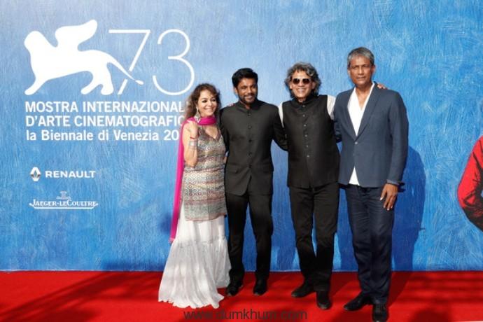World Premiere of Shubhashish Bhutiani's Mukti Bhavan(Hotel Salvation at the Venice Film Festival-