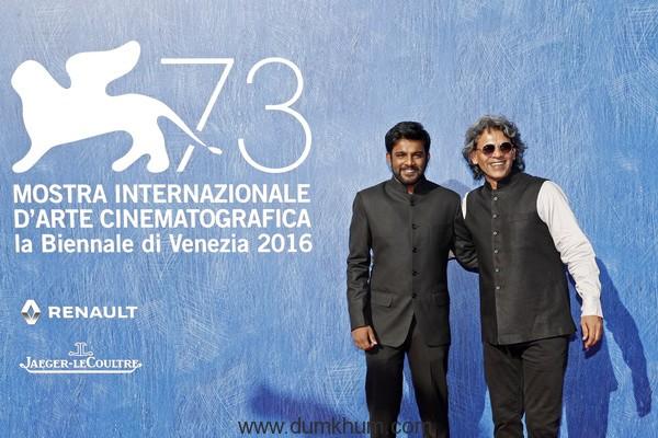 World Premiere of Shubhashish Bhutiani's Mukti Bhavan(Hotel Salvation at the Venice Film Festival-1