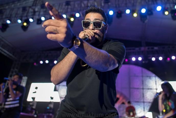 badshah-performs-at-hungama-bollywood-music-project
