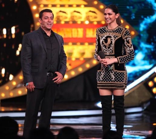 Deepika Padukone and Salman Khan launch Bigg Boss with a 'bigg' bang