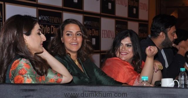 jury-l-r-actress-soha-ali-khan-neha-dhupia-and-feminas-editor-tanya-chaitanya