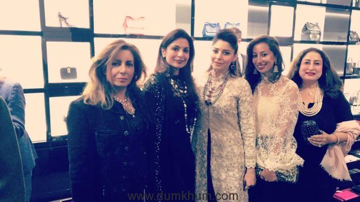 Kanika Kapoor stuns at the Dolce & Gabbana Diwali bash