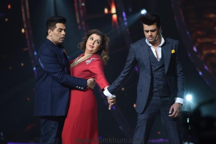 Karan Johar and Farah Khan recreate the magic of Kuch Kuch Hota Hai; with a little help from Manish Paul