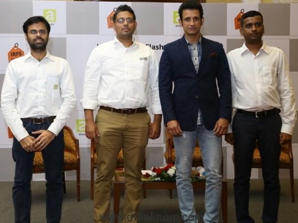 ketan-sabnis-tech-head-amura-vikram-kotnis-managing-director-amura-sharman-joshi-brand-ambassador-irfs-2016-vinayak-katkar-operations-head-amura
