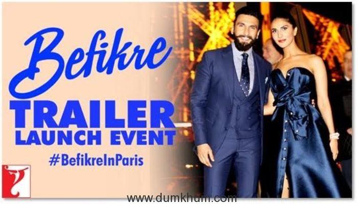 Ranveer Vaani Bring Alive The Romance of Paris At Befikre Trailer Launch