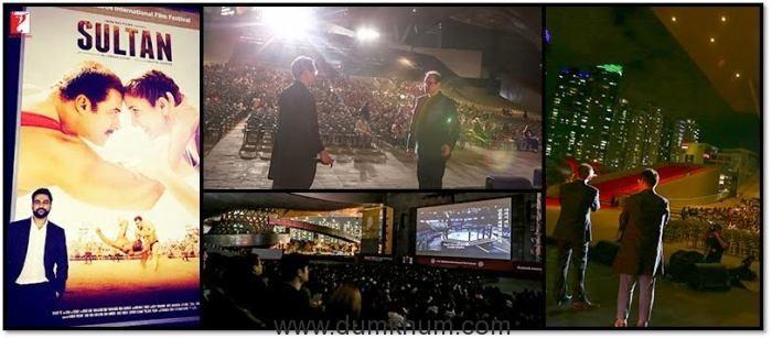 Yash Raj Films' Sultan Wins Over Audiences at Busan International Film Festival