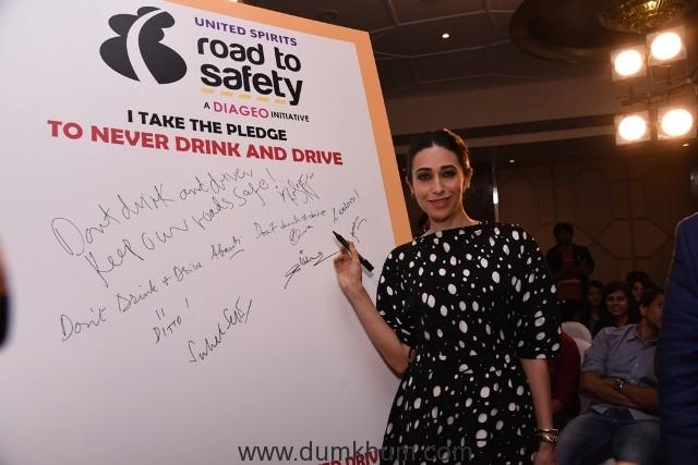 actress-karishma-kapoor-at-ndtv-road-to-safety