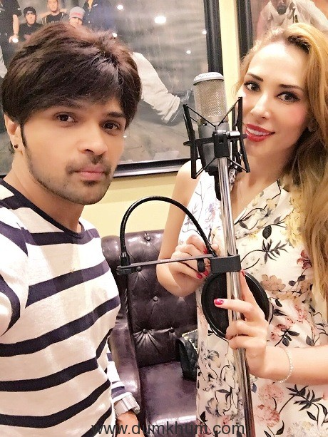 himesh-reshammiya-ropes-in-lulia-to-be-a-part-of-his-album-aap-se-mausiiquii