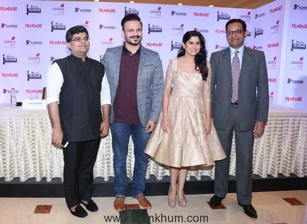 l-r-filmfare-magazine-editor-jitesh-pillai-actor-vivek-oberoi-actress-sai-tamhankar-colors-marathi-business-head-anuj-poddar_