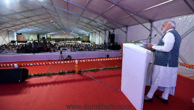 The Prime Minister, Shri Narendra Modi addressing the International Conference and Exhibition on Sugarcane Value Chain-Vision 2025 Sugar, in Pune, Maharashtra on November 13, 2016.
