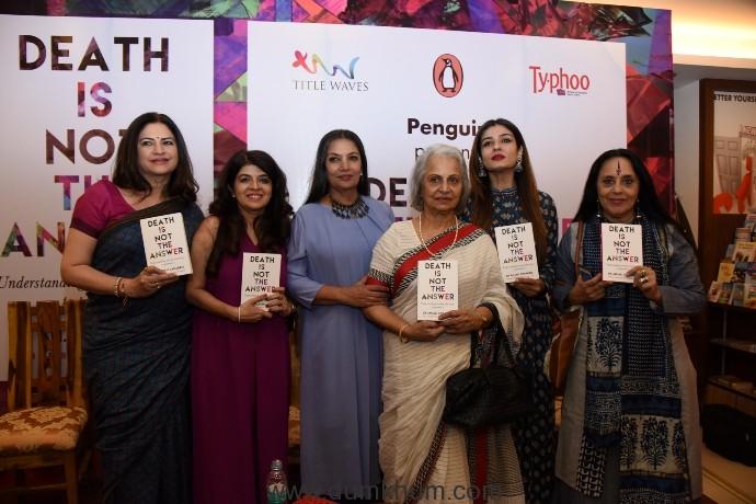 Shabana, Waheeda, Raveena grace Anjali Chhabria's book launch