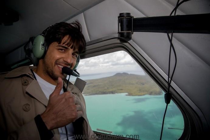 I am leaving on a Seaplane, sings Bollywood actor Sidharth Malhotra