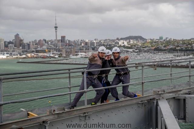 sidharth-malhotras-adrenaline-pumping-auckland-bridge-climb-1