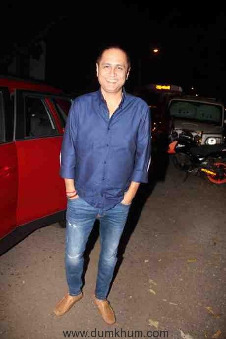 Bollywood filmmaker Vipul Shah during the success party of Force 2 in Mumbai, India on November 25, 2016. (Utsav Devdutta/SOLARIS IMAGES)