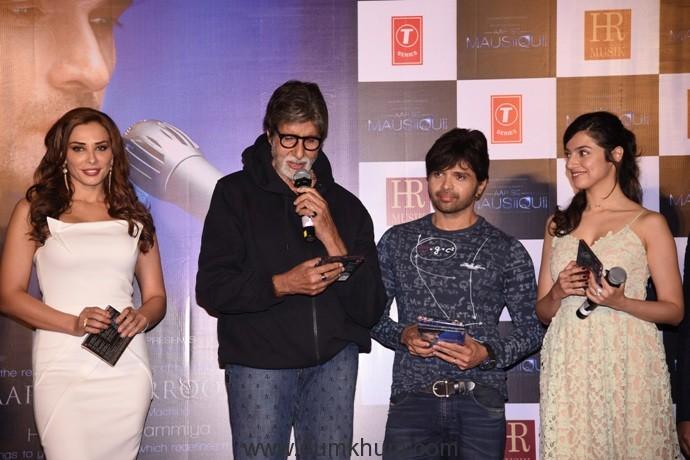 Amitabh Bachchan unveils Himesh Reshammiya's 'Aap Se Mauiisquii' produced by Bhushan Kumar