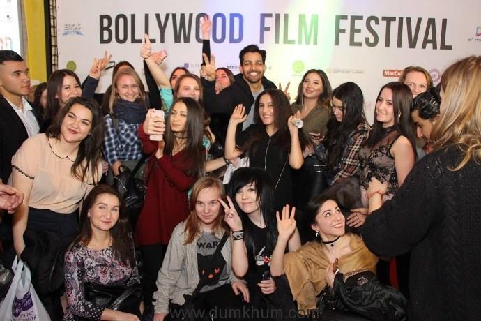Eros International & Soham Rockstar's Sanam Teri Kasam screened at the Bollywood Film Festival in Russia