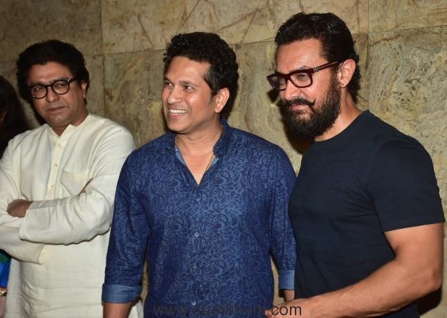 Sachin Tendulkar, Raj Thackeray, Phogat family watch Dangal!