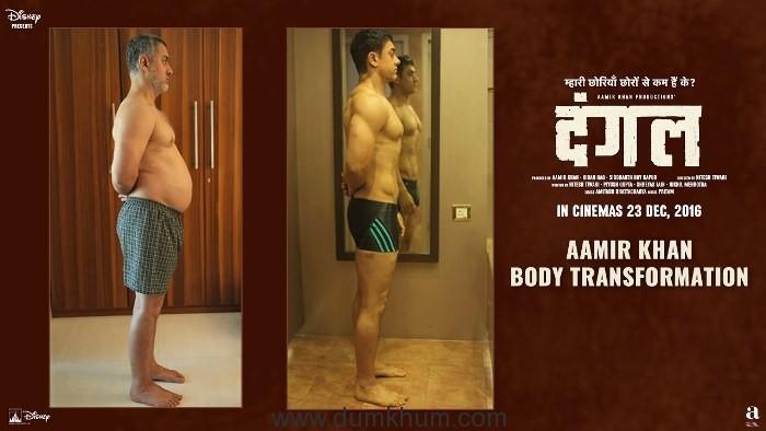 Aamir Khan's journey from 97 kgs to a fab body!