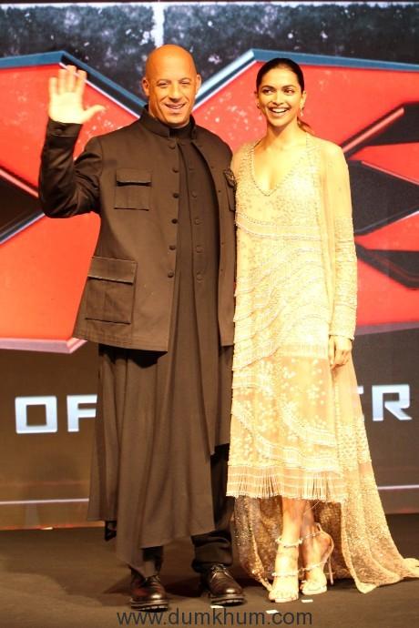 Deepika Padukone and Vin Diesel 2
