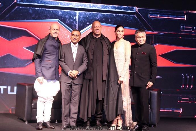 Deepika Padukone and Vin Diesel & D J Caruso-Sudhanshu Vats & Ajit Andhare