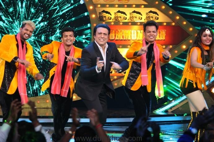 Govinda dances on the song Lohe ka Liver from his movie Aa Gaya Hero