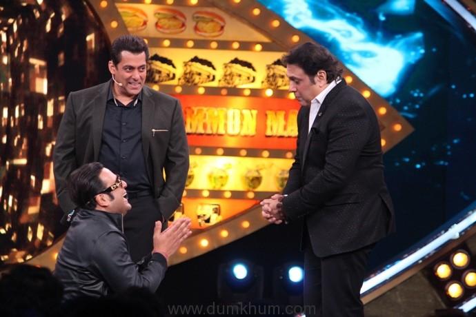 Krushna Abhishek, Govinda and Salman on Bigg Boss Weekend Ka Vaar2