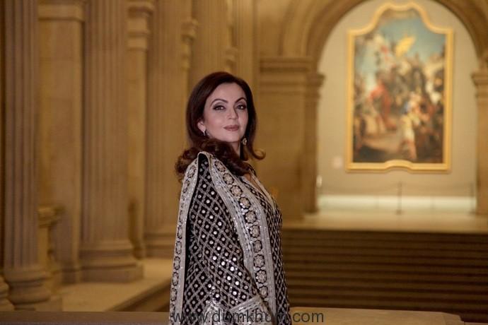 Nita Ambani honoured by The Metropolitan Museum of Art for her philanthropic efforts, in New York