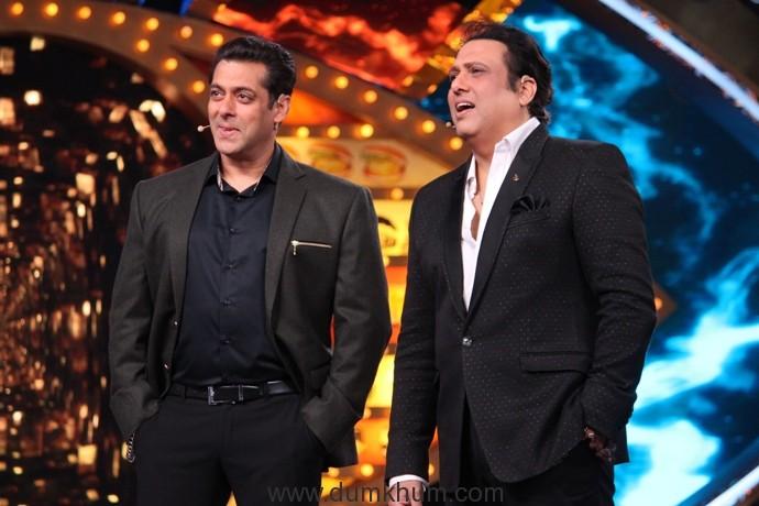 Salman and Govinda talking to Bigg Boss contestants1