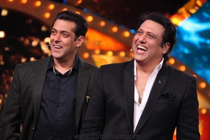 'Partners' Salman Khan and Govinda reunite on Bigg Boss Weekend Ka Vaar