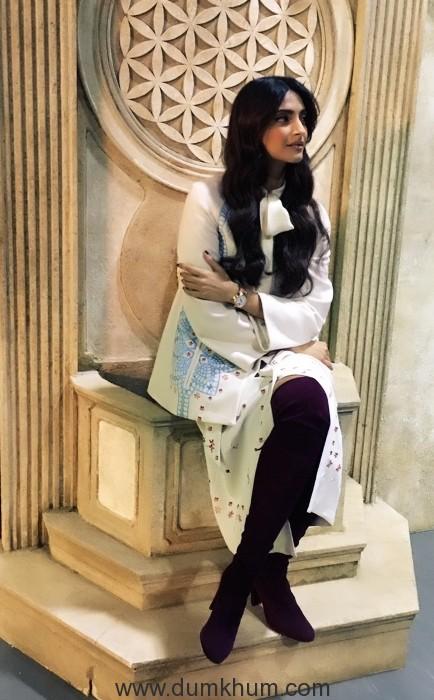 Sonam Kapoor- the Brand Ambassador of IWC Schaffhausen for India