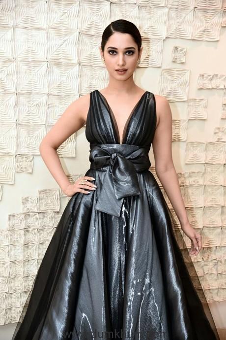 Tamannah Bhatia in Stunning Peter Langer Gown