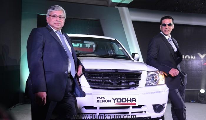 tata-motors-launches-the-new-xenon-yodha-in-the-presence-of-akshay-kumar