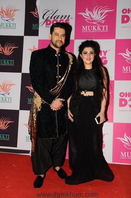 16. Aftab Shivdasani with Archana Kochhar