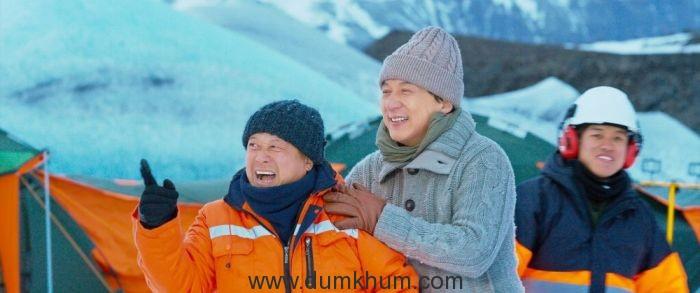Eric Tsang and Jackie Chan