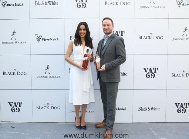 Freida Pinto Global Partner Diageo Ewan Gunn - Brand Ambassador Diage...