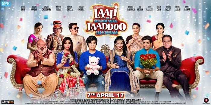 Laali Ki Shaadi Mein Laaddoo Deewana - Poster