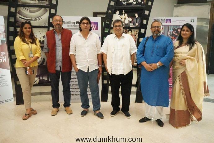 Lto R Megha Ghai Puri, Anjum Rajabali, Subhash Ghai, Aniruddha Roy Choudhary