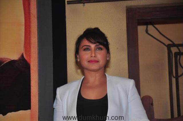 RANI MUKERJI RETURNS TO ACTING WITH HICHKI