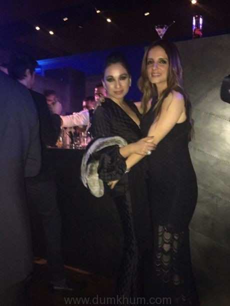 Sheetal with Suzanne Khan