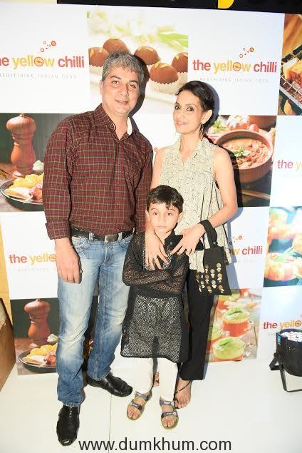 . Varun Badola with Rajeshwari