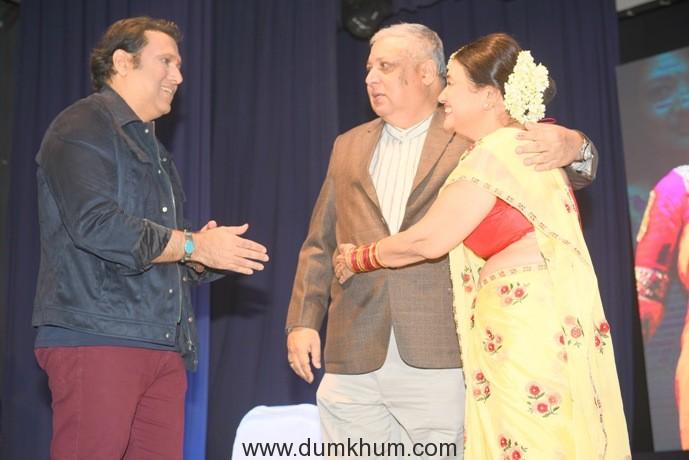 3. Govinda Kirti Kumar with Kaamini Khanna