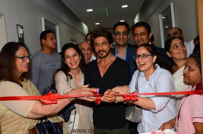 Shah Rukh Khan Launches Bone Marrow Transplant Centre & Birthing Centre at Nanavati Super Speciality Hospital