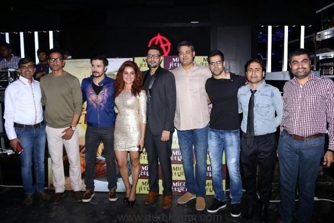 Darshan Kumaar- Pia Bajpai starrer 'Mirza Juuliet' music launches-