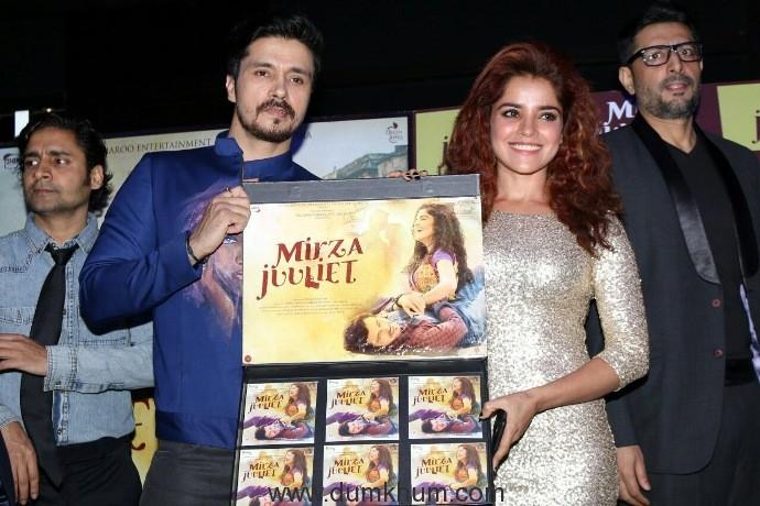 Darshan Kumaar- Pia Bajpai starrer 'Mirza Juuliet'  music launches.