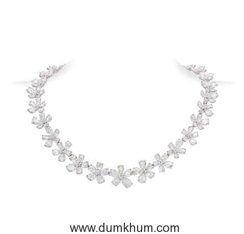 FL-NK8029 Jasmine Single Line Necklace