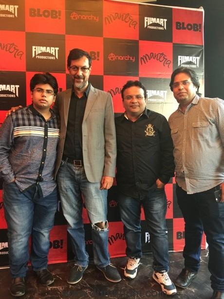 Filmart's Anil, Jai & Hrithik Mani launch Filmart Productions -