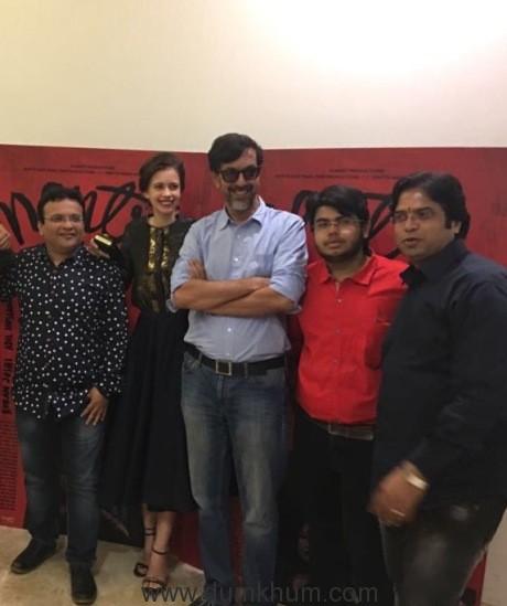 Filmart's Anil, Jai & Hrithik Mani launch Filmart Productions -1