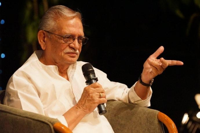 Legendary poet, Gulzar saab inaugurated the student's Poets Society, 'Kachchi Qalam'