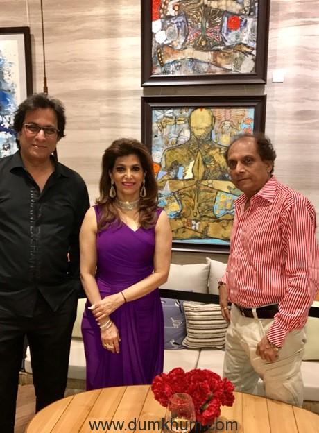 Hemant Sanganee , Bina Aziz , Talat Aziz